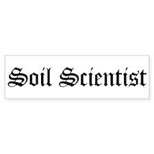 Soil Scientist Bumper Bumper Sticker