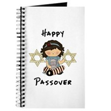Happy Passover Girl Journal