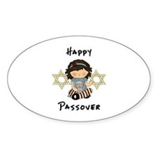 Happy Passover Girl Decal