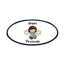 Happy Passover Girl Patches