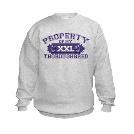 Thoroughbred PROPERTY Kids Sweatshirt