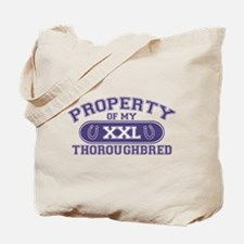 Thoroughbred PROPERTY Tote Bag