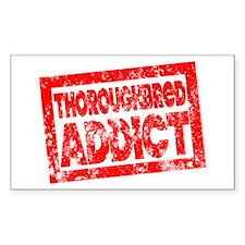 Thoroughbred ADDICT Decal