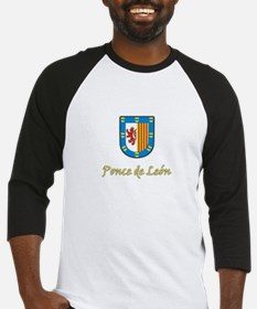 Ponce de Leon Coat-of-Arms Baseball Jersey