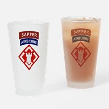 20th Engineer Sapper Drinking Glass