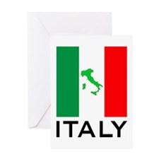 italy flag 01 Greeting Card