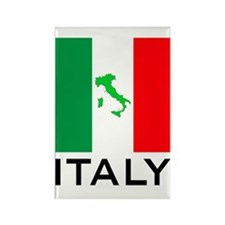 italy flag 01 Rectangle Magnet