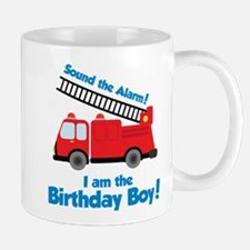 Firetruck Birthday Boy Mug