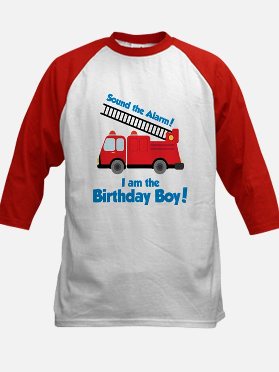 Firetruck Birthday Boy Tee
