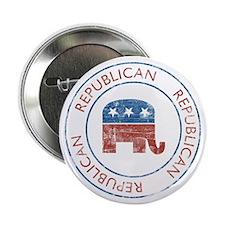 """Vintage Republican 2.25"""" Button"""