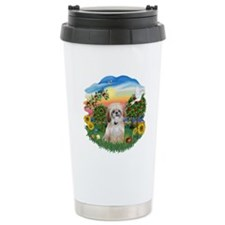 Bright Country-Shih Tzu 17 Travel Mug