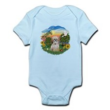Bright Country-Shih Tzu 17 Infant Bodysuit