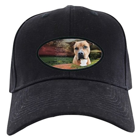 """""""Why God Made Dogs"""" AmStaff Black Cap"""