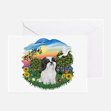BrightCountry/ShihTzu#22 Greeting Cards (Pk of 20)