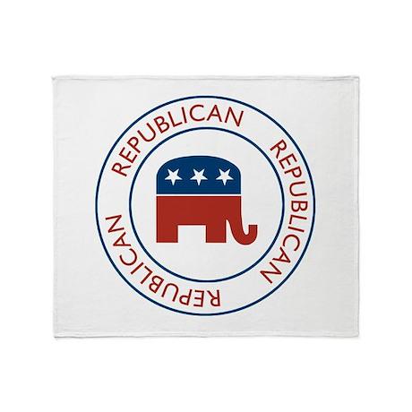 Republican Throw Blanket