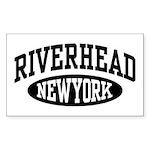 Riverhead NY Sticker (Rectangle)