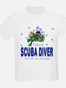 Unique Future marine biologist T-Shirt