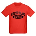 Shelter Island NY Kids Dark T-Shirt