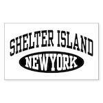 Shelter Island NY Sticker (Rectangle)