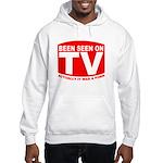 Been Seen on TV Porn Hooded Sweatshirt