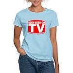 Been Seen on TV Porn Women's Light T-Shirt