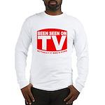 Been Seen on TV Porn Long Sleeve T-Shirt