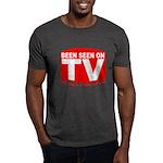 Been Seen on TV Porn Dark T-Shirt