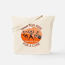 Multiple Sclerosis Walk Run Tote Bag