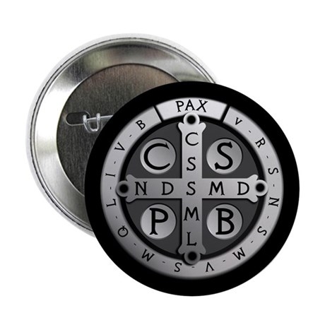 """Benedict Medal 2.25"""" Button (10 pack)"""