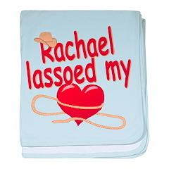 Rachael Lassoed My Heart baby blanket