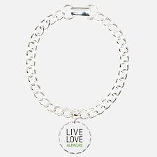 Live Love Alpacas Bracelet
