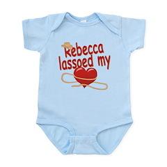 Rebecca Lassoed My Heart Infant Bodysuit