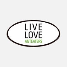 Live Love Anteaters Patches