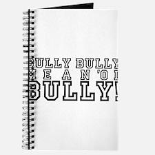 Mean Ol' Bully Journal