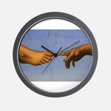 Hand to Foot Wall Clock