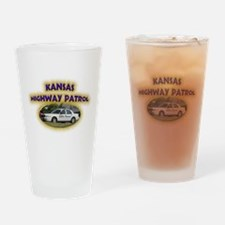 Kansas Highway Patrol Drinking Glass