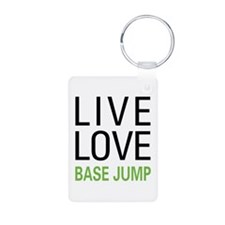 Live Love BASE Jump Keychains
