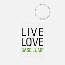 Live Love BASE Jump Keychains