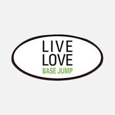 Live Love BASE Jump Patches