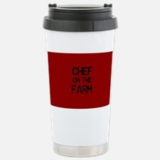 Chef on the Farm Stainless Steel Travel Mug