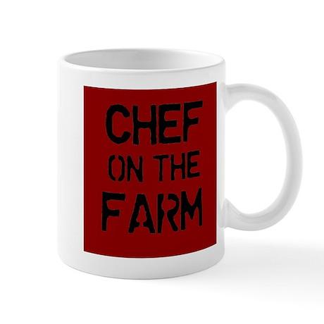 Chef on the Farm Mug
