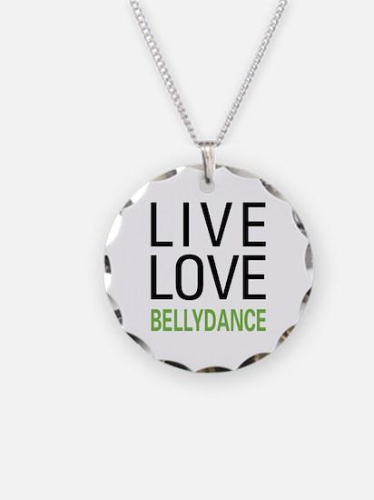 Live Love Bellydance Necklace
