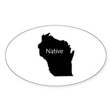 Wisconsin Native Decal