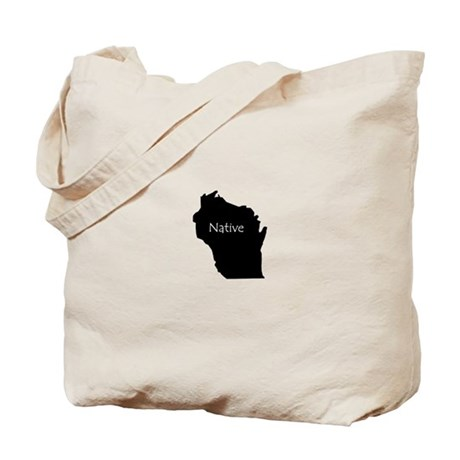 Wisconsin Native Tote Bag