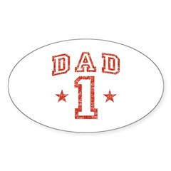 Dad Sticker (Oval)