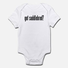 GOT SADDLEBRED Infant Bodysuit