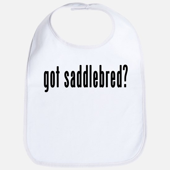 GOT SADDLEBRED Bib