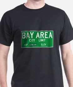 Bay Area City Limit - Colored T-Shirt