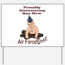 Air Force Brat Birth Announcement Yard Sign
