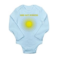 Good Day Sunshine Long Sleeve Infant Bodysuit